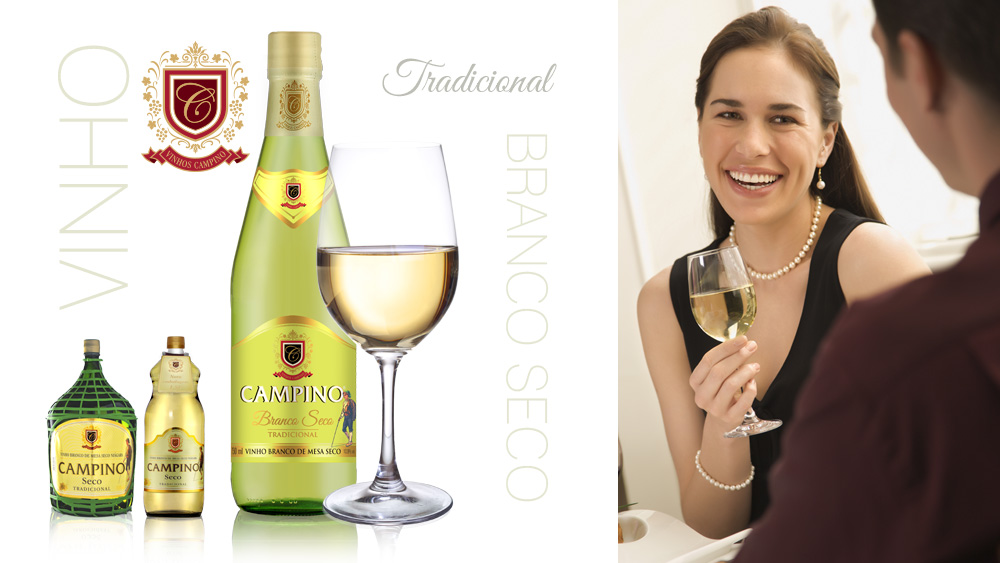 Vinho Branco Seco Campino
