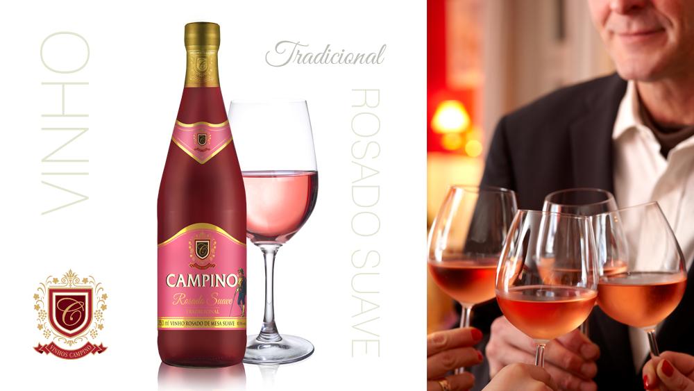 Vinho Rosado Campino